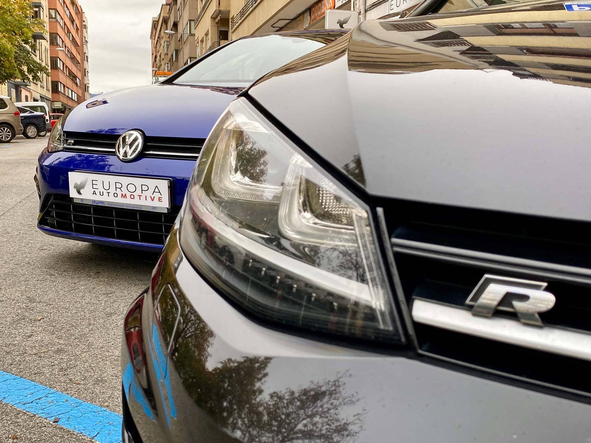 coches importados de 2 en 2 Europa-automotive volkswagen-golf-R