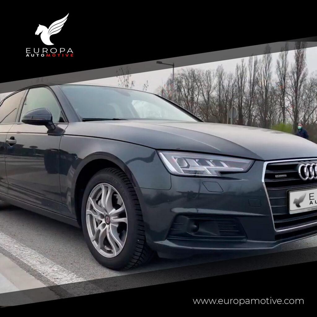 Audi A4 - EuropaAutomotive - Importado de Alemania