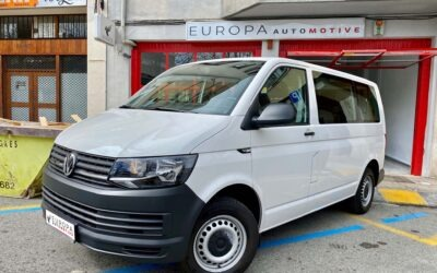 Volkswagen Transporter T6 TDI de 9 plazas importada de Alemania.