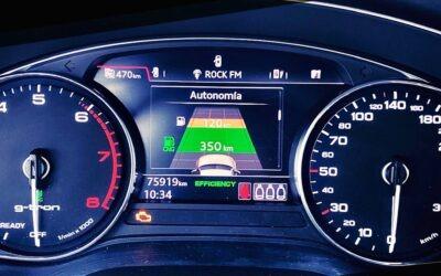 Importado un Audi A4 Avant g-tron del 2018 con distintivo ambiental ECO