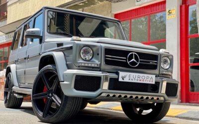 Importar un Mercedes AMG Clase G G63 V8 Biturbo de Alemania