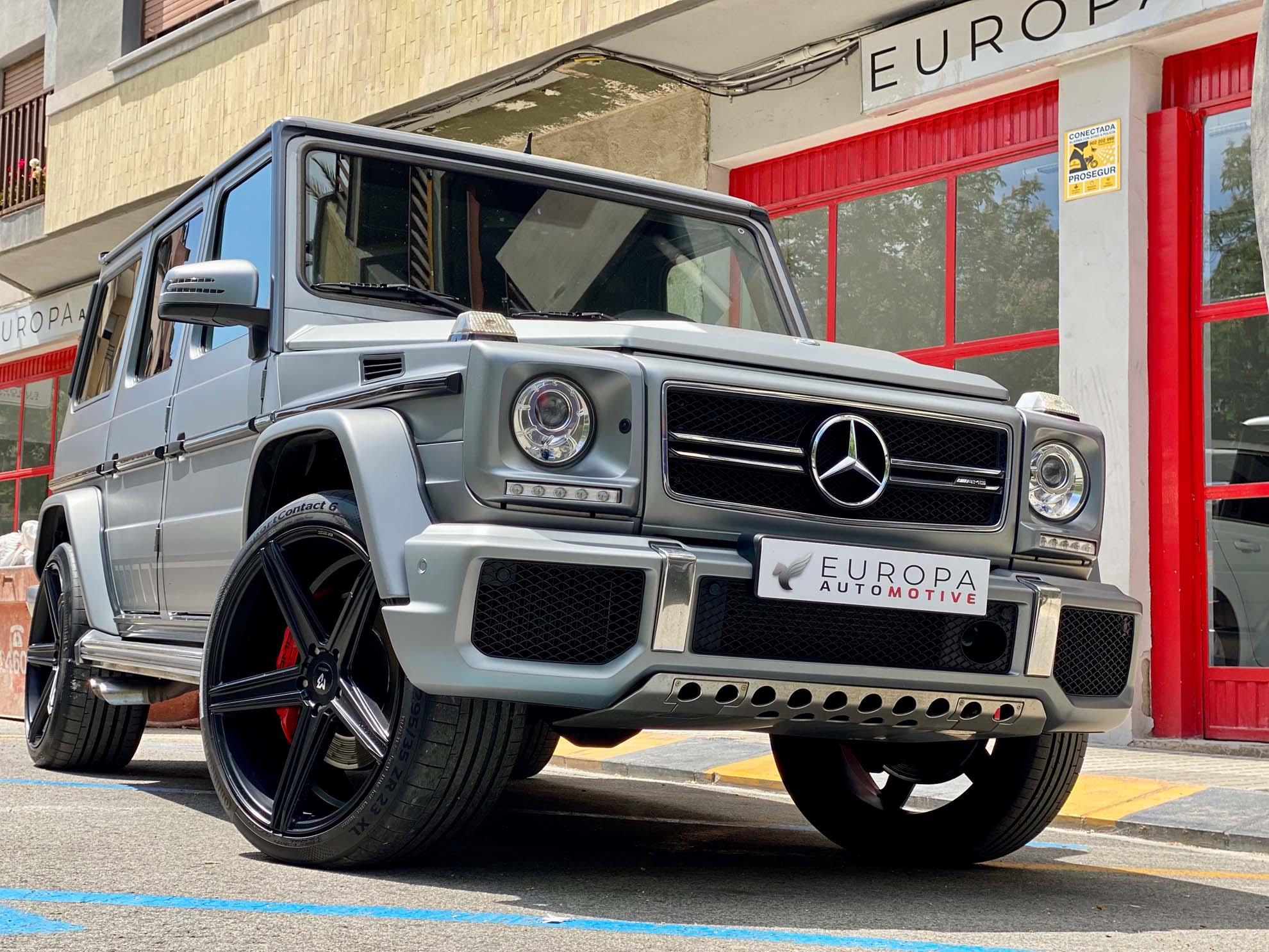 Importar un coche de Alemania - Mercedes AMG Clase G G63 - Europa Automotive